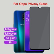 privacy Anti-peep tempered glass For oppo R17 R15 Pro R15X R11 R11S R9S R9 Plus A9 A9X A7 A7X Pro A5 A5S A5X AX5S A3 A3S A1 A1K K1 K3 Full coverage screen protector glass