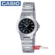 ส่งฟรี !! Casio Standard นาฬิกาข้อมือผู้หญิง สายสแตนเลส รุ่น LTP-1177A