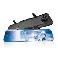 【CORAL】AL5 12吋 全屏2K 觸控聲控 電子雙錄後視鏡 行車紀錄器(送32G記憶卡) [富廉網]