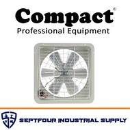 """Compact 14"""" Exhaust Fan with Reversible Switch"""