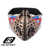 英國 RESPRO CINQRO 運動款多重防護口罩 ( 黃金 )