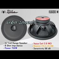 SPEAKER BLACK SPIDER 15 INCH 15600 M KOMPONEN BLACK SPIDER 15600 M ORI