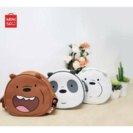 We Bare Bears Crossbody Bag Miniso