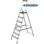 美國Werner穩耐安全梯-L237R-2 鋁合金寬踏板7階梯 大平台 鋁梯 A字梯 梯子 /組(出貨後即無法退換貨,請下單確認好尺寸規格)