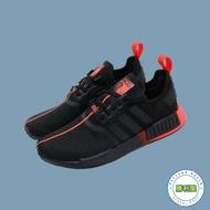 【ADIDAS】ADIDAS ORIGINALS NMD R1 男鞋 休閒鞋 黑紅 黑橘 BOOST 黑武士 星際大戰 聯名款 FW2282【勝利屋】