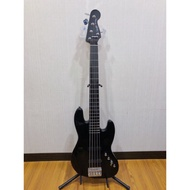 三一樂器 Fender Squier Deluxe Jazz Bass V Active J-Bass 五弦貝斯 黑色