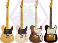 Squier Classic Vibe(CV) Tele經典樂章50年代/Thinline/訂製單單SS拾音器電吉他