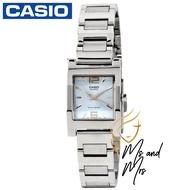 Casio Standard นาฬิกาข้อมือผู้หญิง สายสแตนเลส รุ่น LTP-1283D