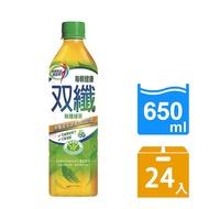 《每朝健康》雙纖綠茶(650ml*24入/箱)-預購7日
