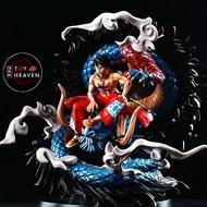🔥TOYHEAVEN🔥 ONE PIECE Wano Luffy Kaido Dragon  Cola GK Copy Resin Figure 可乐路飞 和之国 手办🔥✨