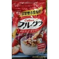 !costco代購 #216971 CALBEE 卡樂比 富果樂 水果早餐麥片 1公斤 ~