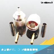優質全銅射頻連接器 N-C-J3 N型公頭 50-3 壓接天線接頭適用RG58 153-00339