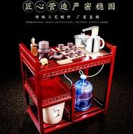 茶車 可移動茶臺泡茶車實木家用套裝簡約功夫茶桌茶盤茶具茶車整小茶幾 第六空間 MKS