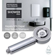 3 Functional High Pressure Water Shower / Multifunction Shower Head