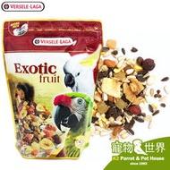 缺《寵物鳥世界》凡賽爾Versele-Laga 羅樂LORO 大型鸚鵡特級營養飼料(水果) 600g 歐洲原裝BS112