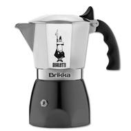 BIALETTI Brikka 2人份 4人份 加壓摩卡壺 羅馬尼亞生產 專利金屬帽加壓設計 咖啡油脂加倍 熱銷商品
