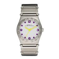 Marc Jacobs 色彩潮流時尚手錶-銀白/36mm MBM3513