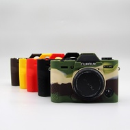 現貨新款 富士 X-T30 xt30矽膠套 XT30微單相機包 便攜攝影包