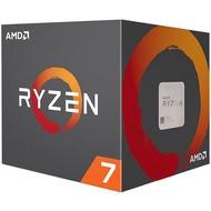 AMD Ryzen 7-2700X 3.7GHz 八核心處理器 R7-2700X (內含風扇)