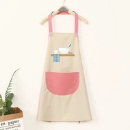 Apron Dress Woman Cooking Accessories Chef Apron Kitchen Accessories Aprons For Woman Pink Apron Japan Style Apron