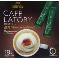 AGF Blendy CAFE LATORY濃厚拿鐵18本入