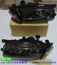 [大禾自動車] NISSAN SENTRA 331 B13 薰黑 H4 大燈 角燈 水箱罩 一組