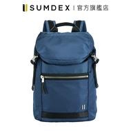 Sumdex|都會休閒商務後背包 NON-793BU 藍色 官方旗艦店