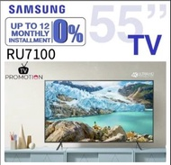 "Samsung TV 55"" RU7100"