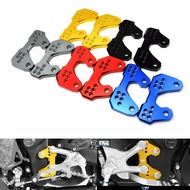 BDJMotorcycle Rearset Base Footrest Footpeg Foot Pegs Pedals Bracket Motorcycle Accessories For Yamaha MT03 R3 2015-2016