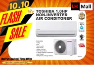 Toshiba 1.0HP Non-inverter Aircond R32 Air Conditioner RAS-H10J2KG(I)