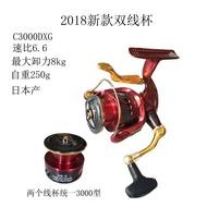 【現貨秒發】 SHIMANO禧瑪諾BBX手剎輪 18款禧瑪諾雙杯手剎輪 DESPINA c3000DXG軸捲線器 全金屬
