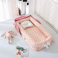กระเป๋าเดินทางเด็ก Nest เตียงนอนเล่น Crib กลางแจ้ง Cradle แรกเกิดเบาะนอน Cot รถเข็นเด็กแบบมีเบาะ