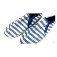 愛日貨現貨 H&M 懶人鞋 休閒鞋 藍白條紋款 EUR43號