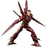 ☆現貨☆復仇者聯盟4/3 SHF 鋼鐵人MK50 奈米武器版 模型 請參閱內容介紹
