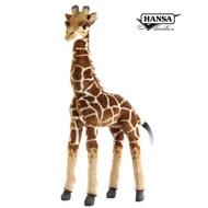 非洲動物系列|7810 長頸鹿|50公分【Hansa Creation擬真動物玩偶】