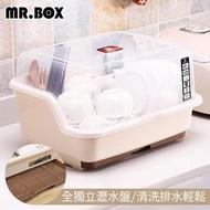 【Mr.Box】多用途抽取式掀蓋特大碗籃