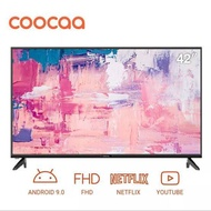 COOCAA LED TV 42S3G -42 INCH SMART ANDROID YOUTUBE GARANSI RESMI NEW