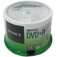 【索尼 Sony 光碟片】SONY DVD+R 16x布丁筒50片 4.7GB
