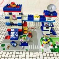 POLI 主題停車場 主題警察局 救援小英雄 波力 安寶 羅伊 赫利 停車場 組裝 軌道玩具 東森幼幼台 積木 樂高