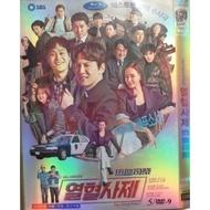 韓劇 DVD 【熱血伺祭】金南佶、金成鈞、李哈妮碟片版 盒裝 完整版