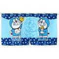 哆啦A夢Doraemon小叮噹卡通和風藍色色短門簾 85x45cm櫃簾仙鶴夜光台灣製