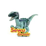 Lego Velociraptor Blue Dino Jurassic Park World Fallen Kingdom Indoraptor Indominus Trex Kids Toys