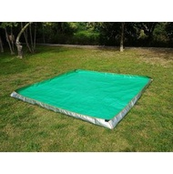 【SAMCAMP 噴火龍】台灣製造 ㊣ 噴火龍300型帳篷(內帳尺寸300*300cm) - 專用上包式地布