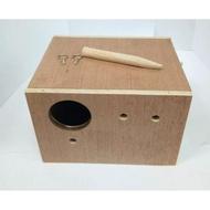 โปรโมชั่น  รังเพาะนก กล่องนก รังนกหงษ์หยก กล่องนอน กล่องนก บ้านไม้นก ราคาถูก  กรงสัตว์เลี้ยง กรง กรงสุนัข กรงหมา กรงแมง กรงนก กรงกระต่าย