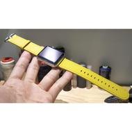 獨家現貨966 全新38mm 40mm 42mm 44mm Apple Watch 客製化悠遊卡晶片錶帶 黃 22mm
