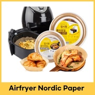 Airfryer Nordic Paper / For Airfryer / Oven / Microwave / Frying Pan / accessory