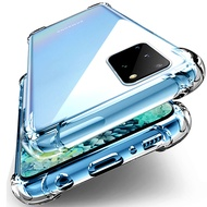 airbag soft clear phone cover for samsung galaxy note 20 note 10 plus 5g s10 plus s10e s10lit s20 fe s8 s9 plue a51 a71 a80 a90 a10 a20 a30 a40 a50 a01 a21 a31 a41 ultra transparent shockproof case