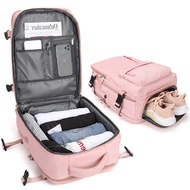 กระเป๋าสะพายเดินทาง Women 'S Multi-Ftion กระเป๋าเดินทางกระเป๋าเป้สะพายหลังน้ำหนักเบากันน้ำกระเป๋าเป้สะพายหลังกระเป๋าเดินทางแห้งกระเป๋าเปียก