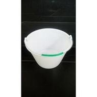 5公升 正台灣 PVC漆桶 白色塑膠 塑膠桶 油漆桶 水桶 小提桶 容量約 桶子 批發價