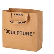 IKEA X OFF WHITE  markerad VIRGIL Abloh 限量組 購物袋中提袋
